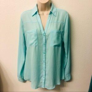 Mint blouse - Express